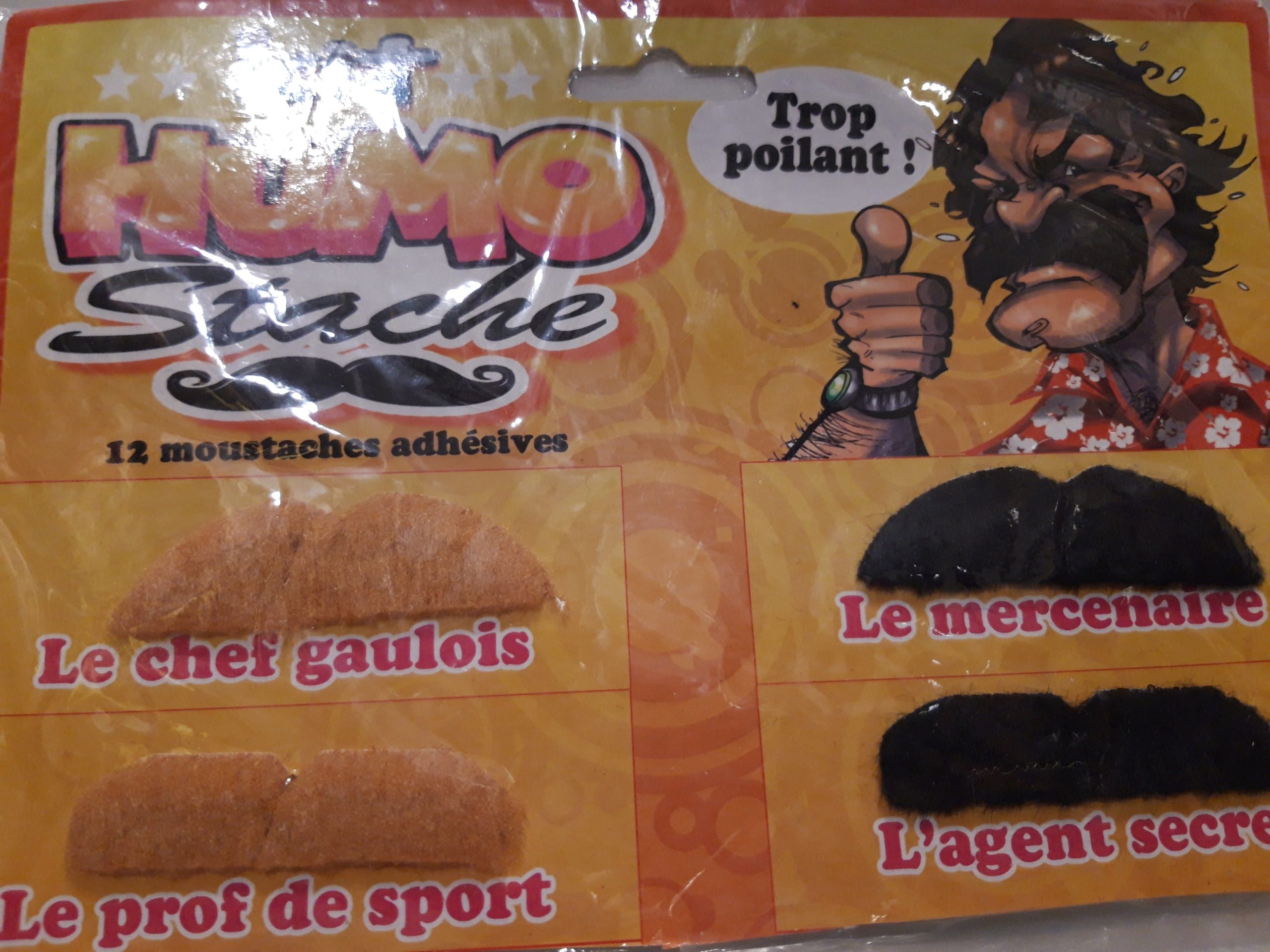 assortiment moustaches