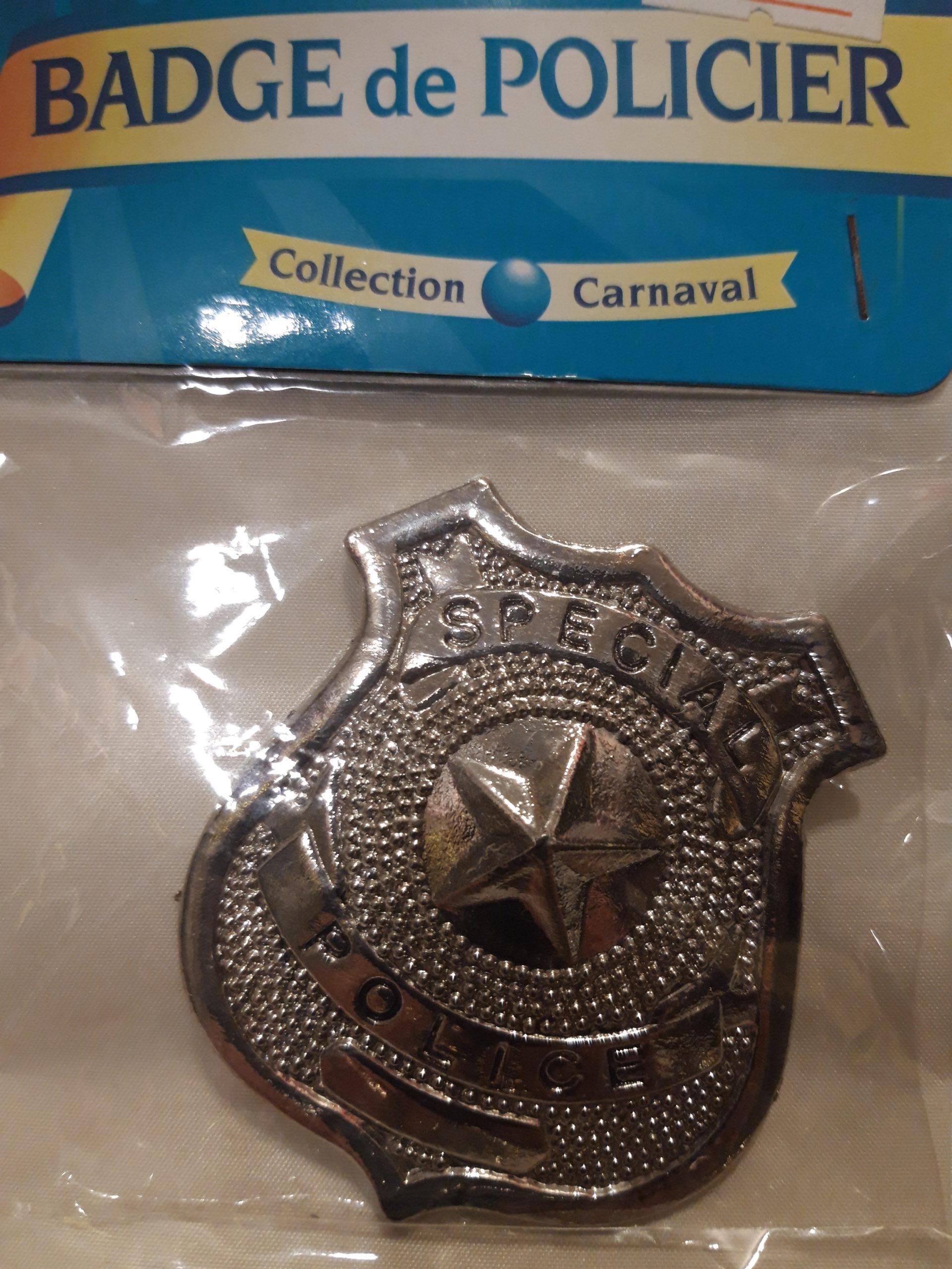 badge policier