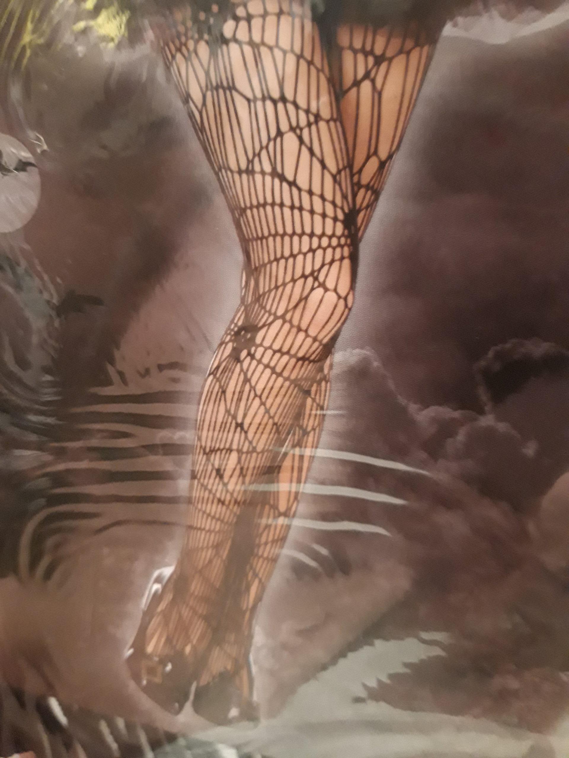 Collant toile d'araignée