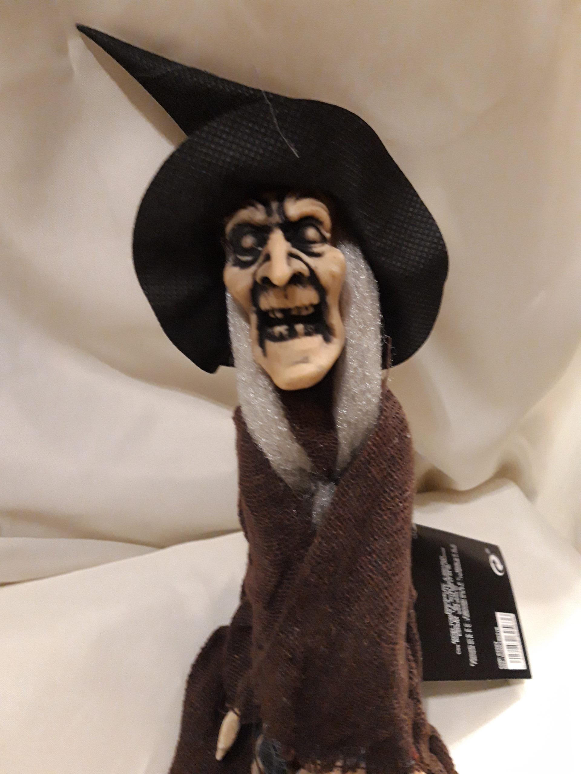Déco marionnette sorcière