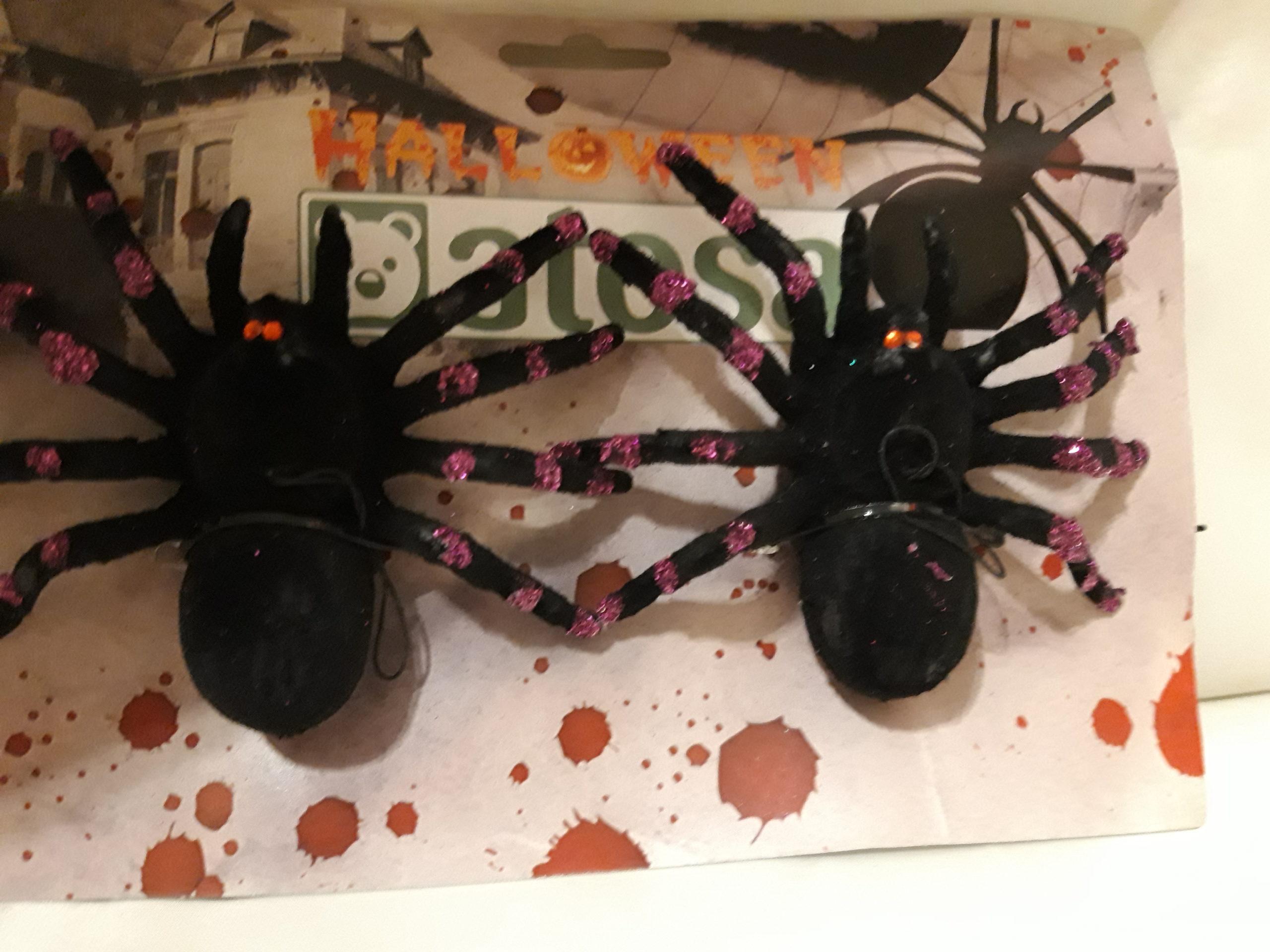 Araignée en feutrine