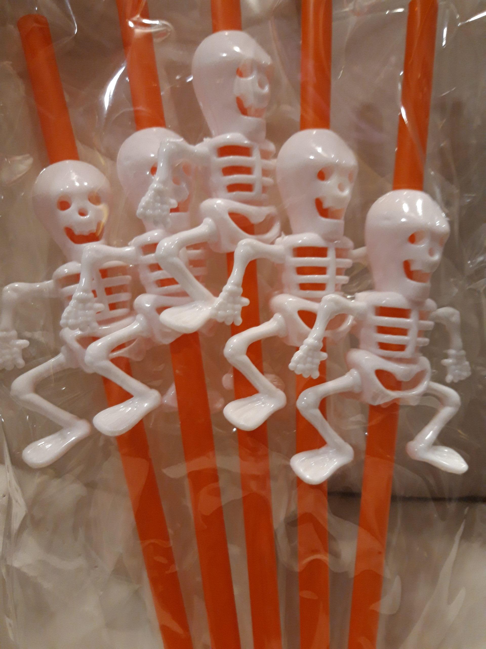 Paille squelette