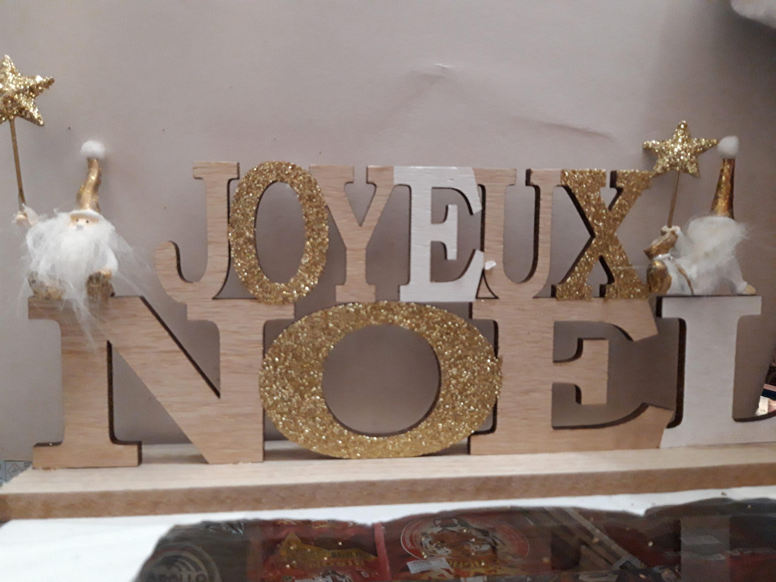 centre de table joyeux noel