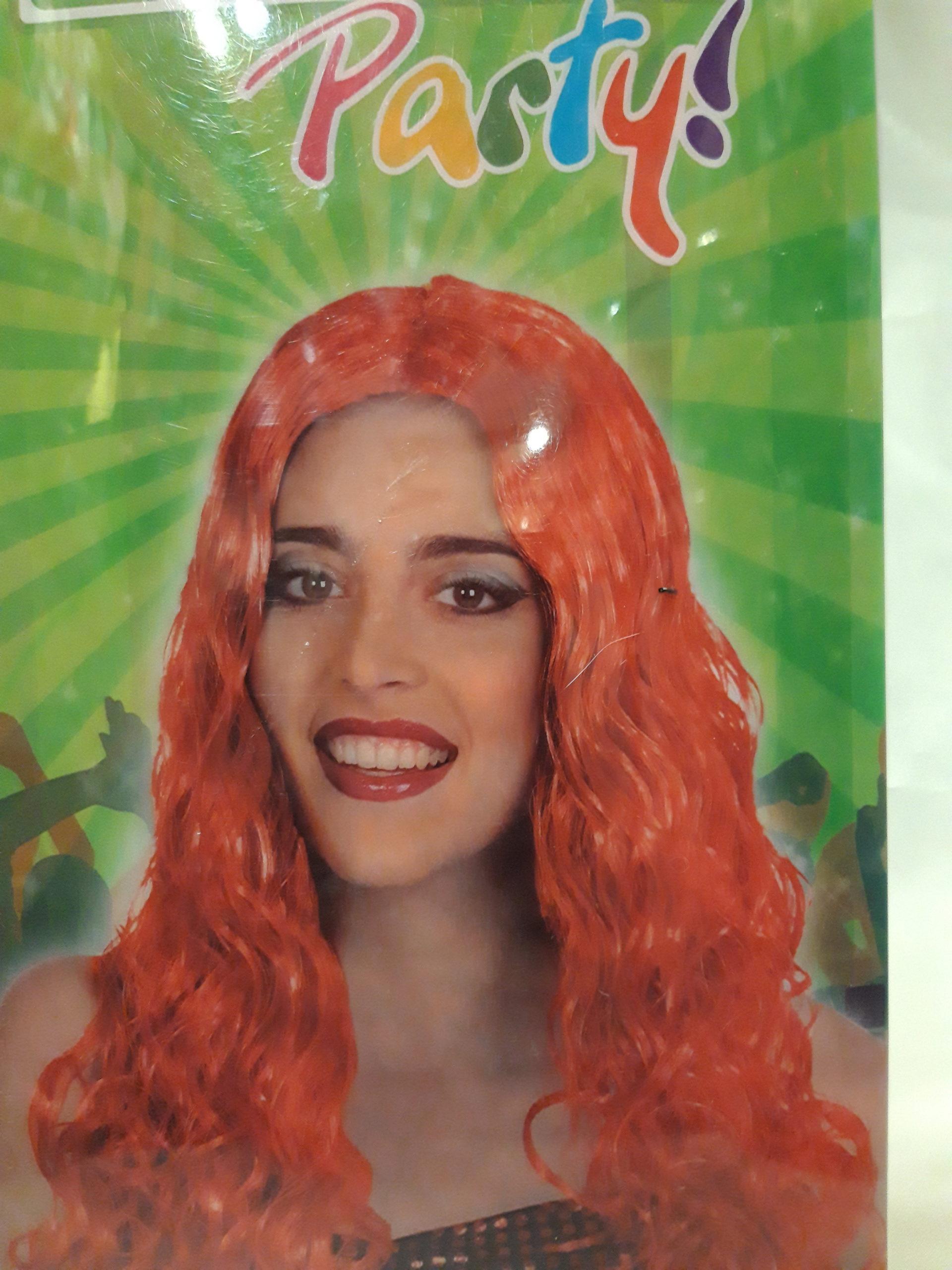 perruque couleur