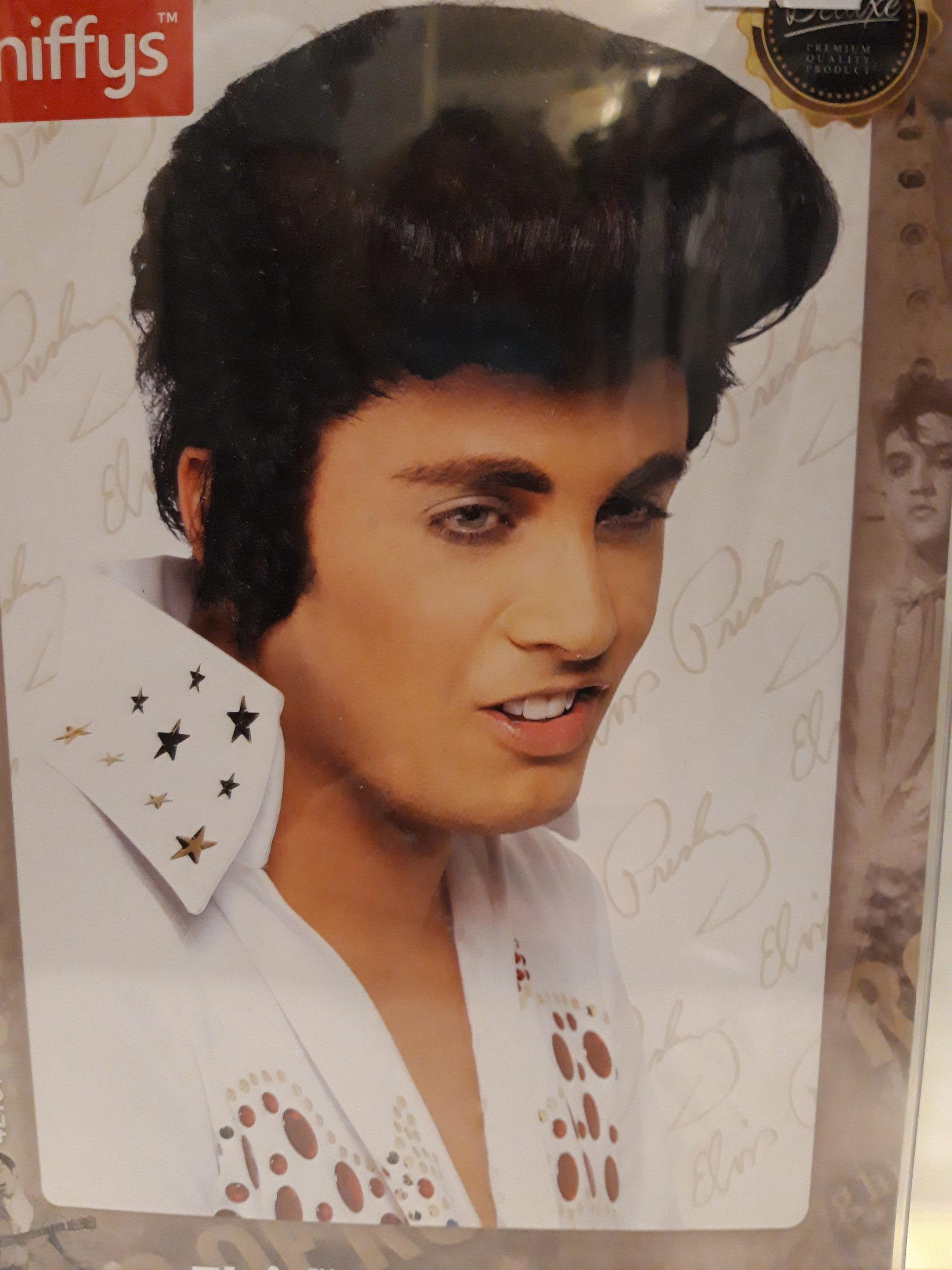 perruque Elvis